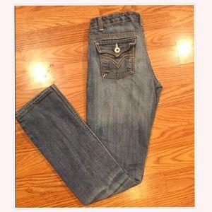 Girls Levi Skinny Jeans